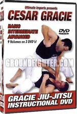 Cesar Gracie Jiu-Jitsu Grappling 9 Volume DVD set new!