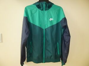 Men's Nike Windrunner Jacket 727324 375 Teal/Neptune Green Medium M