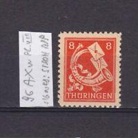 GERMANY 1945 Soviet zone, Mi# 96AXw, plate VIII, CV €16, signed, MNH