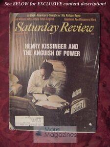 Saturday Review September 18 1976 HENRY KISSINGER SLOAN WILSON SAL M. LINOWITZ