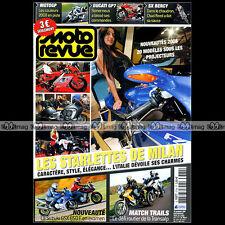 MOTO REVUE N°3784 GSXF SUZUKI 650 BANDIT HONDA 700 DL 650 V-STROM TRANSALP 2007