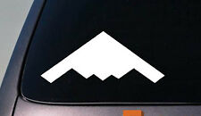 """STEALTH FIGHTER 6"""" Window Vinyl Decal Pilot Fly Aircraft Jet USA Bomber *C546*"""
