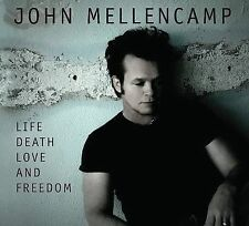 Life, Death, Love And Freedom [CD + Audio DVD] 2008 by John Mellencam Ex-library