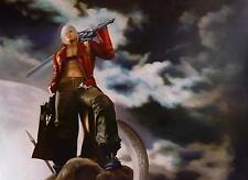 Devil May Cry Dante Oil Painting 40x28in NOT a print poster,framing available.