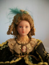 "Porcelain 6"" Doll - Edwardian Lady   GS40421/12 scale dollhouse miniature"