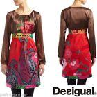 DESIGUAL. VESTIDO India 40-42/ M-L. Dress UK 12/14. Kleid Gr 38/40. Robe.Vestito