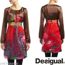 DESIGUAL. VESTIDO India 40-42/ M-L. Dress UK 12/14. Kleid Gr 38/40. Robe.Vestito