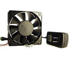 120mm 38mm New Case Fan Kit 200CFM 115 120V AC Adapter Ball Bg Data Mining 1332*