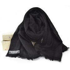 100% Nero Cashmere Sciarpa Pashmina cashmere da donna scialle Stola Wrap sciarpe da uomo