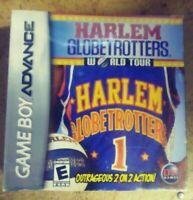 NEW! HARLEM GLOBETROTTERS WORLD TOUR NINTENDO GAME BOY ADVANCE SP GBA