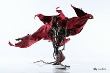 1/12 Scale Rode Custom Deluxe Red wired cape for McFarlane Spawn (No Figure)