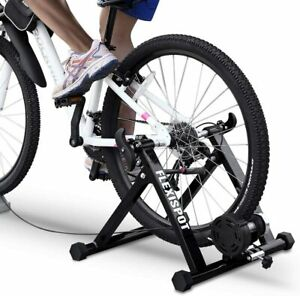 BalanceFrom Bike Trainer Stand Steel Bicycle Exercise Magnetic Black