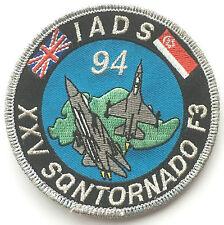 RAF No.25 Squadron Tornado Singapore 1994 IADS Royal Air Force Embroidered Patch