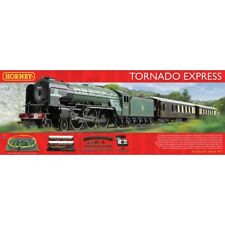 Hornby Tornado Express DCC 00 Gague Train Set.