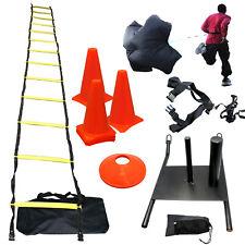 EXTREME Strength Agility Training Sled Ladder Cones Kit