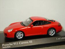 Porsche 911 996 Carrera 4S 2001 - Minichamps 1:43 in Box *34733