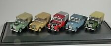 LAND ROVER Classic 5 CAR SET - 1/76 scale model OXFORD DIECAST