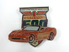 2007 91st Indianapolis 500 Event Chevrolet Corvette Pace Car Collector Lapel Pin