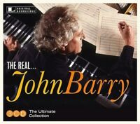JOHN BARRY - THE REAL...JOHN BARRY  3 CD NEW!