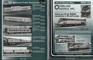 catalogo - Rivista OVERLAND MODELS MAIL Bulletin 135 2002 USA  bb