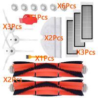 18 In 1 For Xiaomi Roborock MI S50,S51 Vacuum Cleaner Filter Main Side Brush Set
