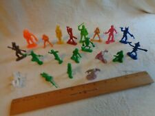 Mixed lot spacemen, aliens Lido Captain Video, MPC, Tim-Mee, Marx.
