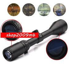 3-9X50 E Mil-dot Illuminated Red & Green Hunting Rifle Scope Optical Gun scope