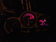 PINK KAWASAKI ZX7R P series led dash clock conversion kit lightenUPgrade