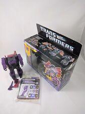 Transformers G1 MINDWIPE Complete with box unused stickers Hasbro Headmaster