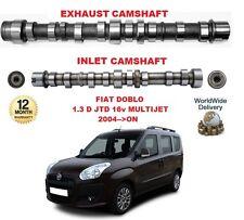 Per Fiat Doblo + Cargo 1.3 D JTD 16V 2004 -- & gton MOTORE Inlet & Scarico Albero a Camme