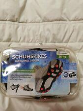 Schuhspikes Eiskrallen Spikes Schuhkrallen Wanderschuhe Schneeschuhe 36-40 NEU