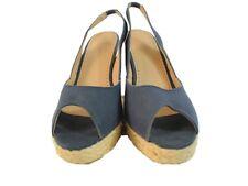 Collin Stuart Women's Wedge Open Toe Shoes 9b
