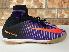 Nike Mercurial Proximo II IC Youth GS Kids Purple Black Orange SZ 5.5 831973-085