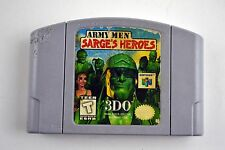 Army Men: Sarge's Heroes (Nintendo 64, 1999) Tested Working Rough *Read Desc*