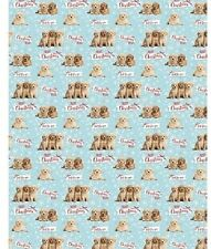 Cockapoo Cockerpoo Christmas Gift Wrap Wrapping Paper 5 Sheets & Tags Dog Lovers