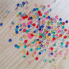1000 Pcs 3mm Crystal Birthstones Floating Charm for Glass Living Memory Lockets