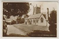 Cornwall postcard - Parish Church (St Martin's). Camborne - RP - P/U (A1064)