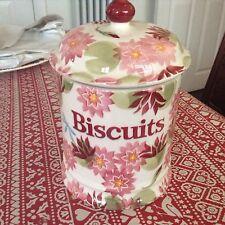 Emma Bridgewater John Lewis Water Lily Biscuits Large Storage Jar Discont.  New