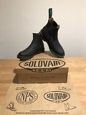 NPS SOLOVAIR Black Greasy Leather Dealer Chelsea Boot! SizeUK6!New! Only
