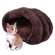 Pet Cat Bed Kitten Puppy Dog Beds Cave Soft Sleeping Mat Fleece Wear Reasistant