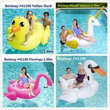 Bestway Inflatable Pool Toy Jumbo Large Adult Kid Float Lounge 1.7-2m 4-Design