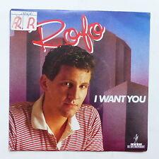 ROFO I want you 880793 7 ITALO DISCO