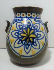 Vase art nouveau GOUDA , Carla Holland 0.50 C.P.