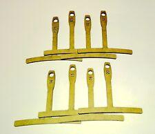 set 8 Understring Radius Gauge for Guitar Bass Nut Bridge Saddle String Setup