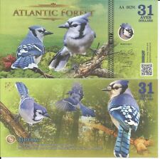 ATLANTIC FOREST BILLETE 31 AVES DOLLARS 2017