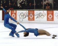 Lloyd Eiesler Figure Skater Olympic Gold Hand Signed 8x10 Photo COA