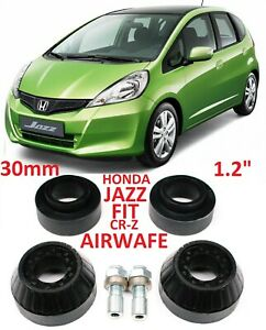 "Lift Kit for Honda CR-Z Jazz Fit Airwave City Insight 1.2"" 30mm strut spacers"