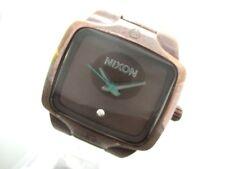 Auth NIXON SMALL PLAYER Bordeaux Women's Wrist Watch