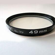 Vintage Kenko 49 mm UV SL-39 camera lens filter