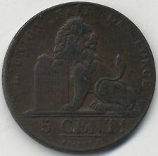 1834 Belgium 5 Centimes | Pennies2Pounds